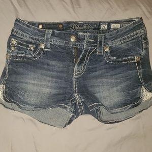 Miss. Me Jean shorts